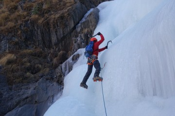 Ice Climbing and Winter Adventures in the Annapurnas