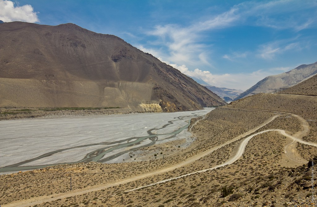 The Road to Jomsom
