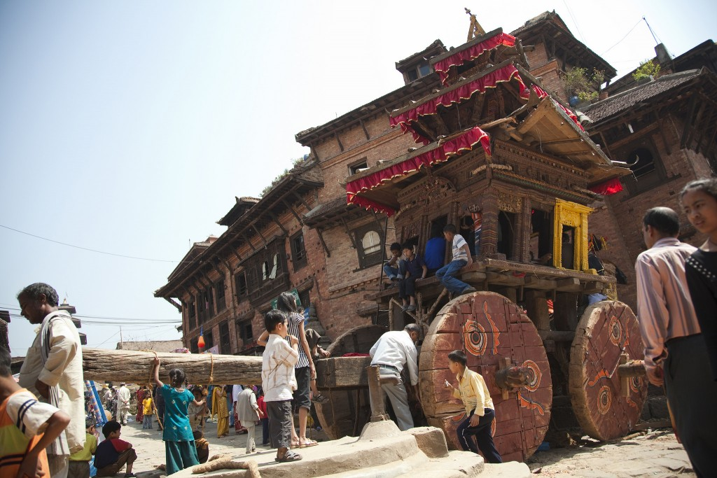 A Princess' Deadly Curse: Myths of the Bisket Jatra Festival