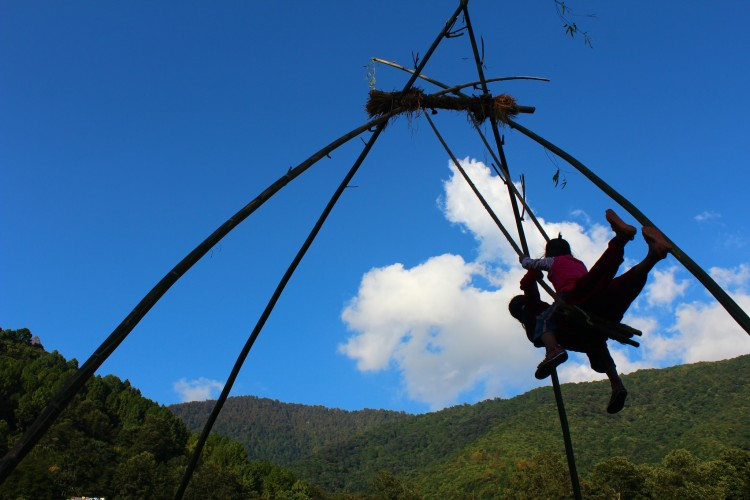 Dashain swing. Photo: socialtours nepal/Flickr
