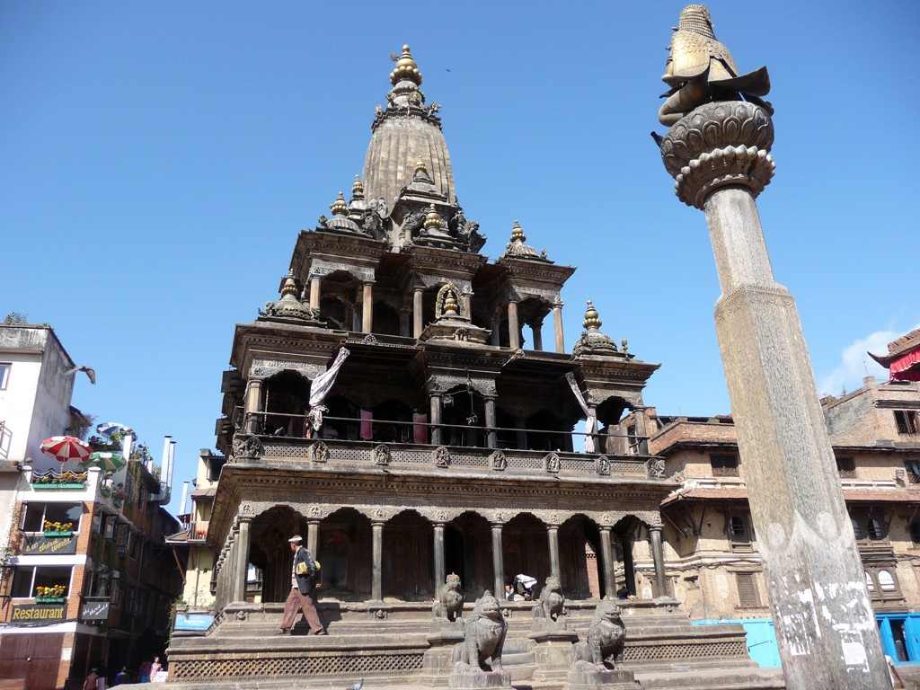 The Krishna Mandir in Patan's Durbar Square. Photo: Cheryl Marland/Flickr