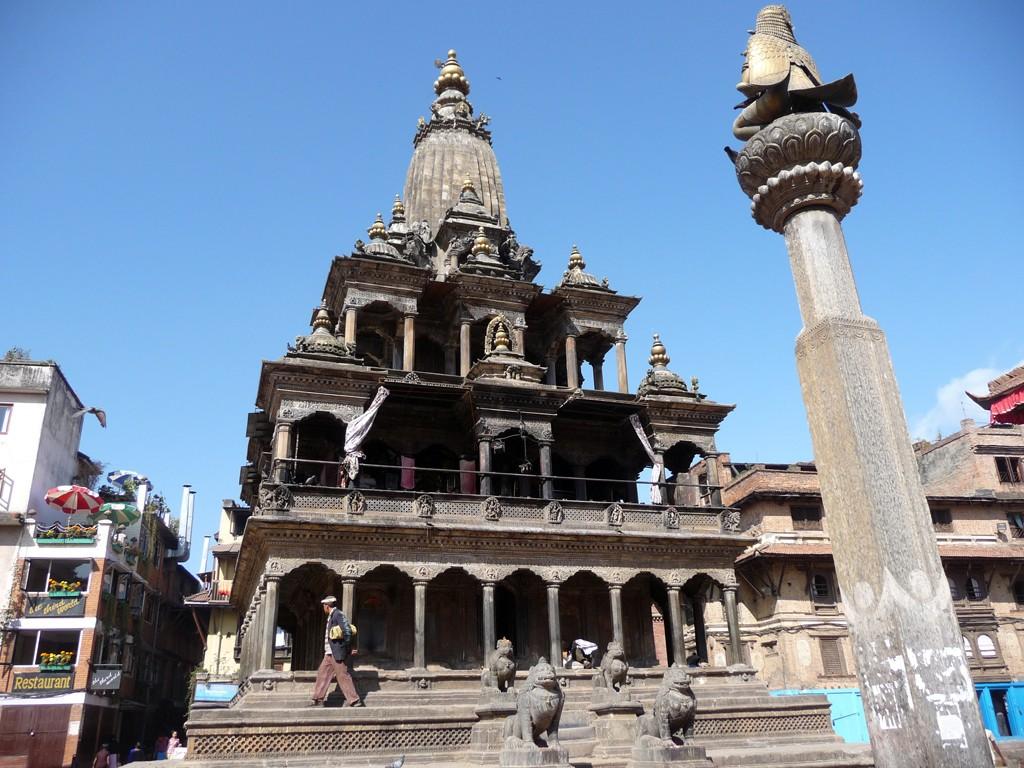 The Krishna Mandir in Patan's Durbar Square. Photo: Cheryl Marland/Flickr