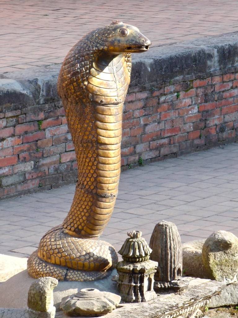 Golden Naga at Royal Baths. Photo: John Pavelka/Flickr