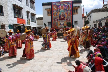 Mustang's Colourful Tiji Festival