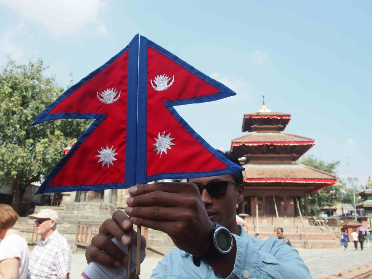 On the Nepali Flag