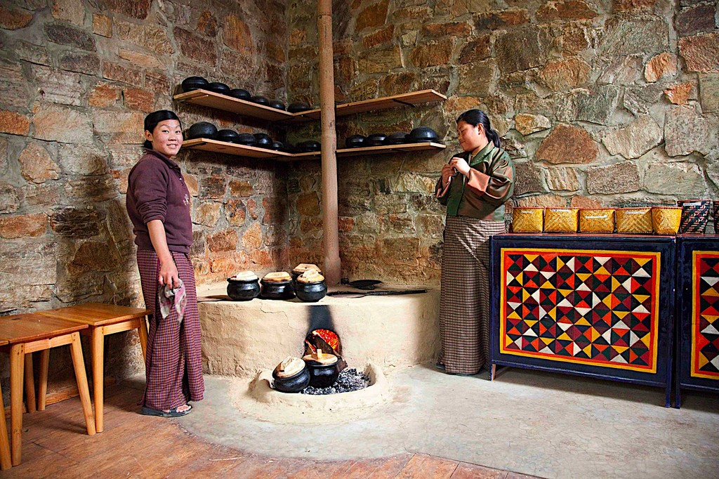 A Bhutanese kitchen. Photo credit: rajkumar1220 / Flickr