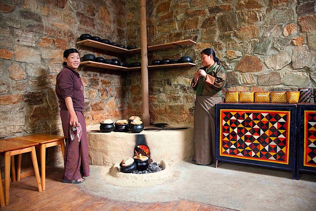 A Bhutanese kitchen. Photo credit: rajkumar1220 / Flickr