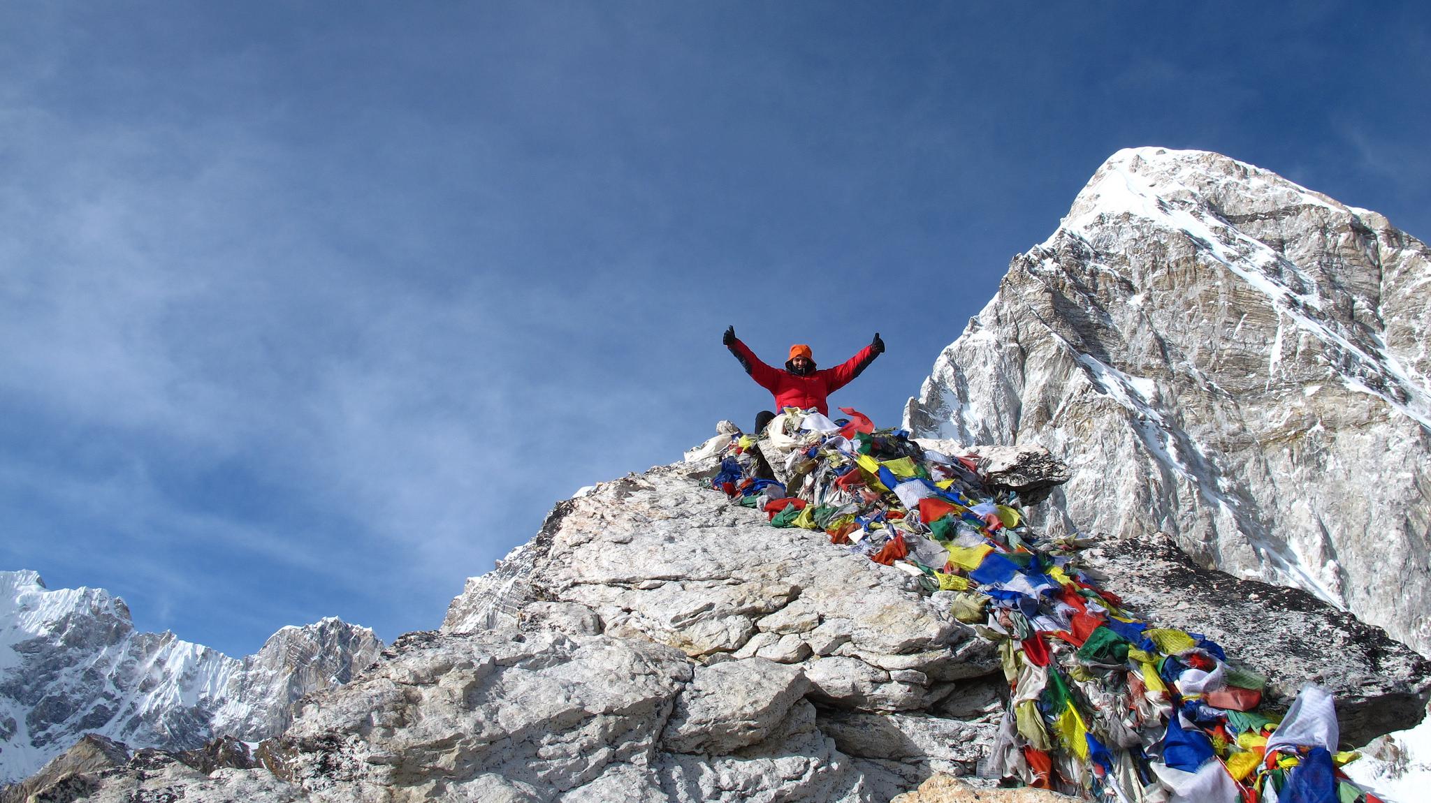 Trekking the Everest Three High Passes Trek Backwards