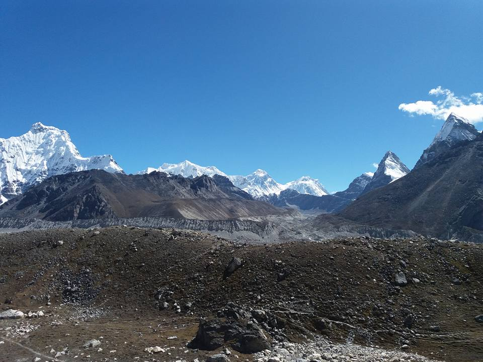 Trekking the Everest Three High Passes Trek Backwards