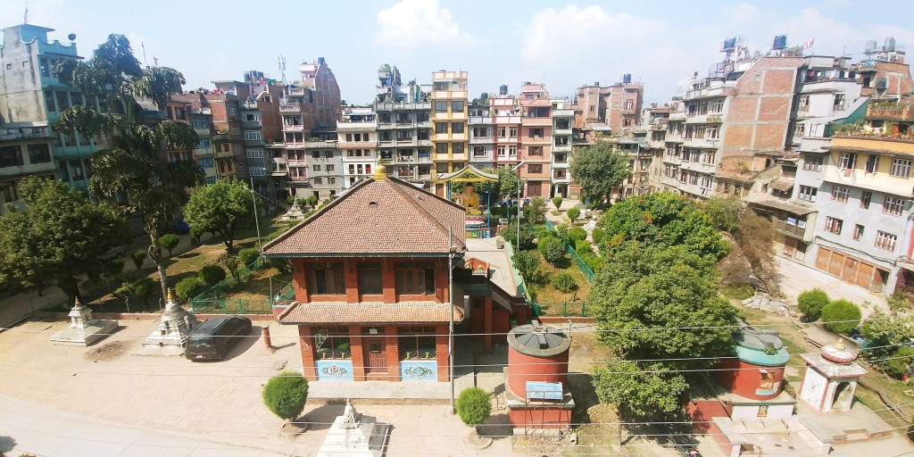 The view from the Patan Community Homestay. Photo: Max Cordova