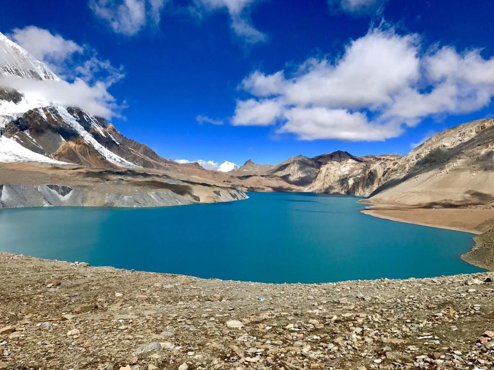 Trekking auf der Annapurna Runde mit dem Tilicho See