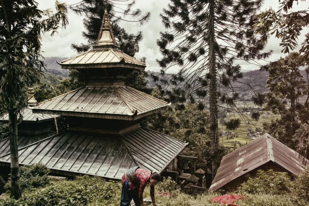 The Vajrayogini Temple, above Sankhu. Photo: rielax/Flickr