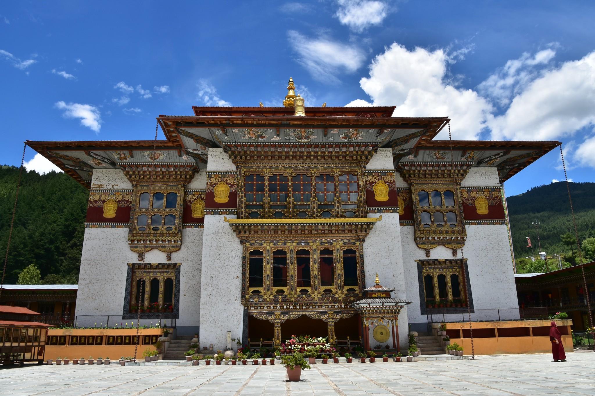 Konchogsum Lhakhang; Chokhor Valley, Bumthang. Photo by Richard Mortel/Flickr