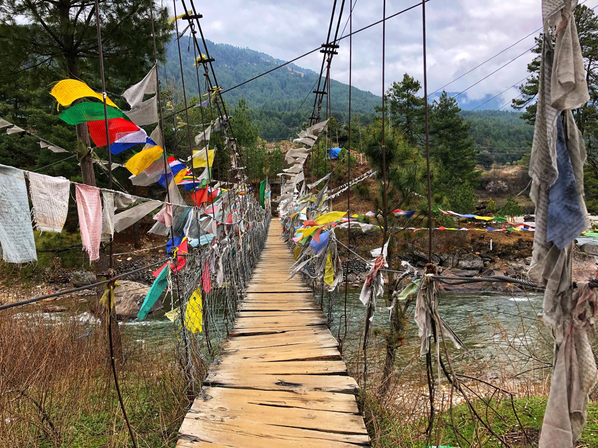 The Alps of Asia in Bumthang, Bhutan