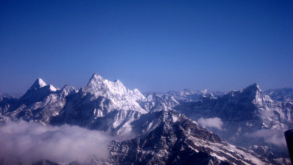 The Himalayan Range. Photo: wonker/Flickr