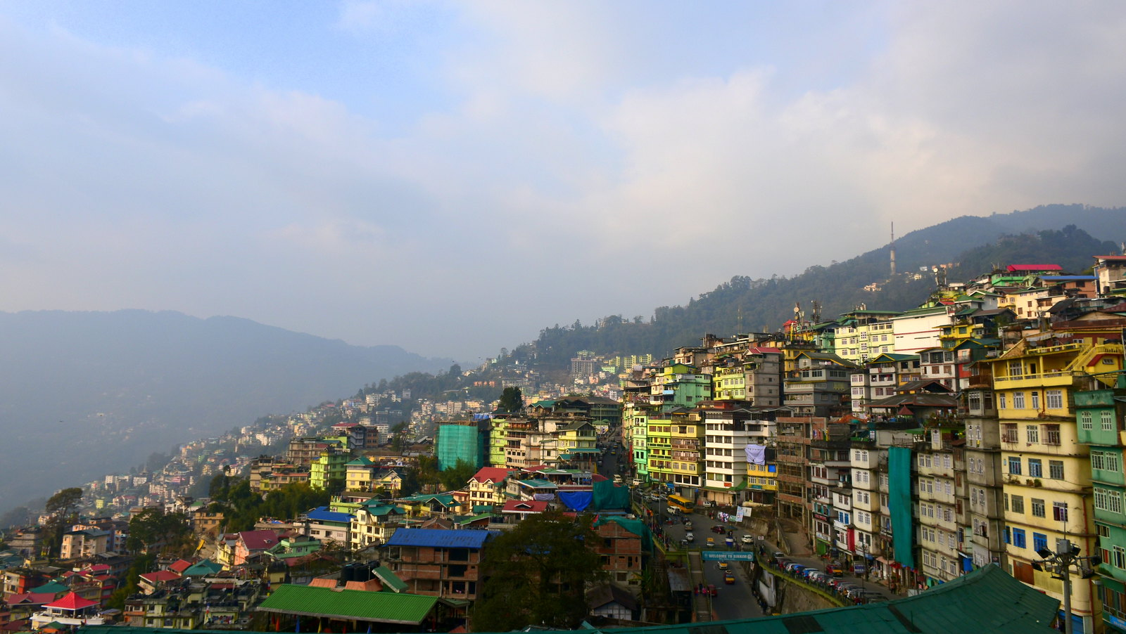 Gangtok, the capital of Sikkim. Photo: Rajib Ghosh/Flickr