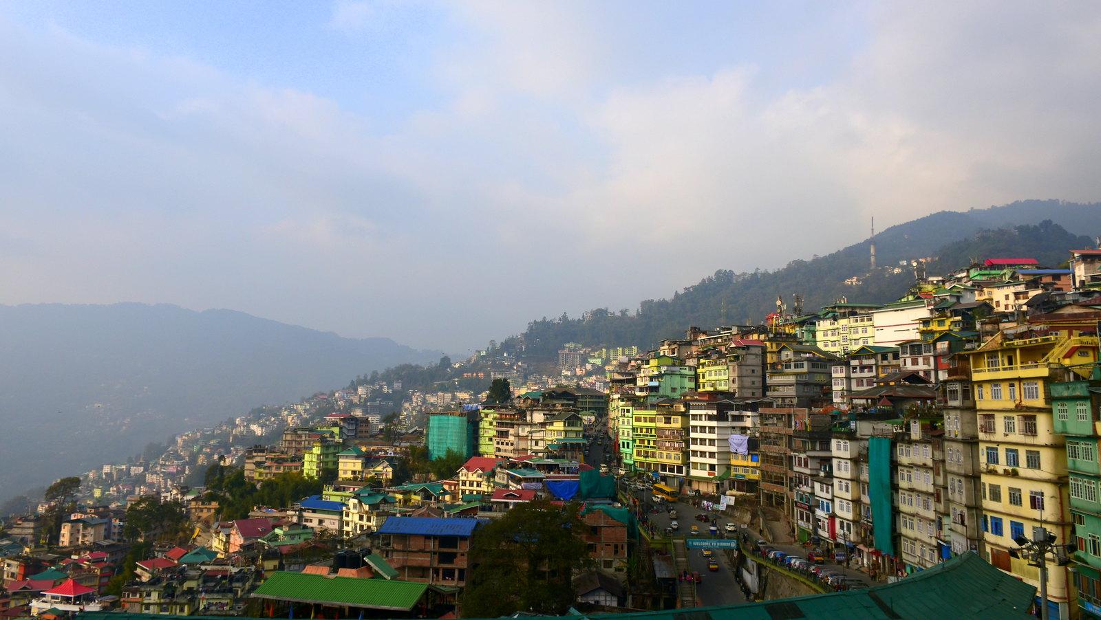 Gangtok, the capital of Sikkim. Photo: Rajib Ghosh/Flickr