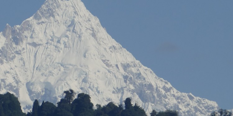 Mount Siniolchu, as seen from Gangtok. Photo: Ankur P/Flickr