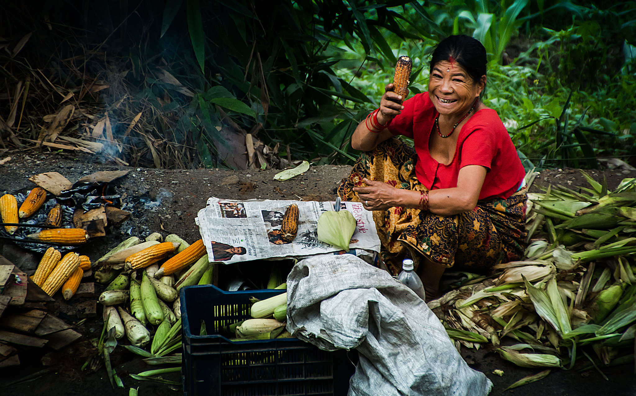 A Nepali woman. Photo: Sharada Prasad CS/Flickr