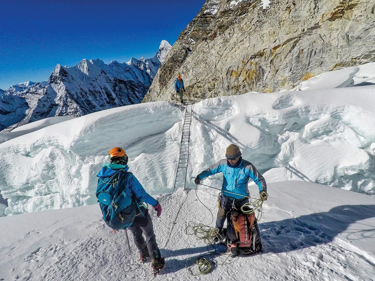 Reaching New Summits while Climbing Island Peak