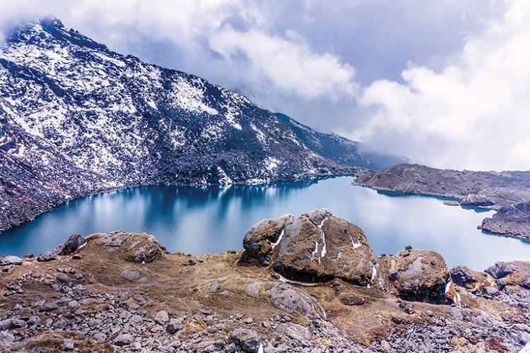 Above Gosai Kunda: Highland of Sacred Alpine Lakes