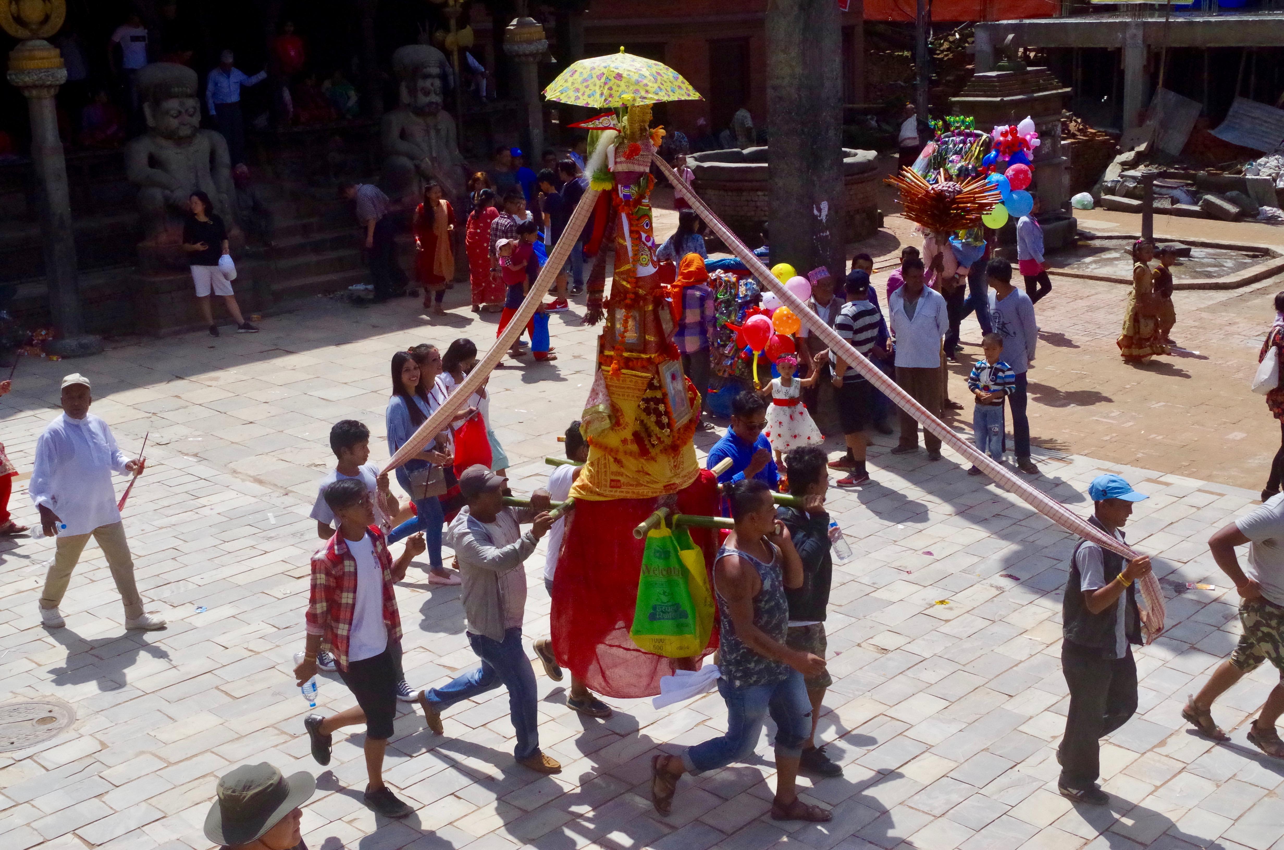 The Newari Festival of Death, Gai Jatra