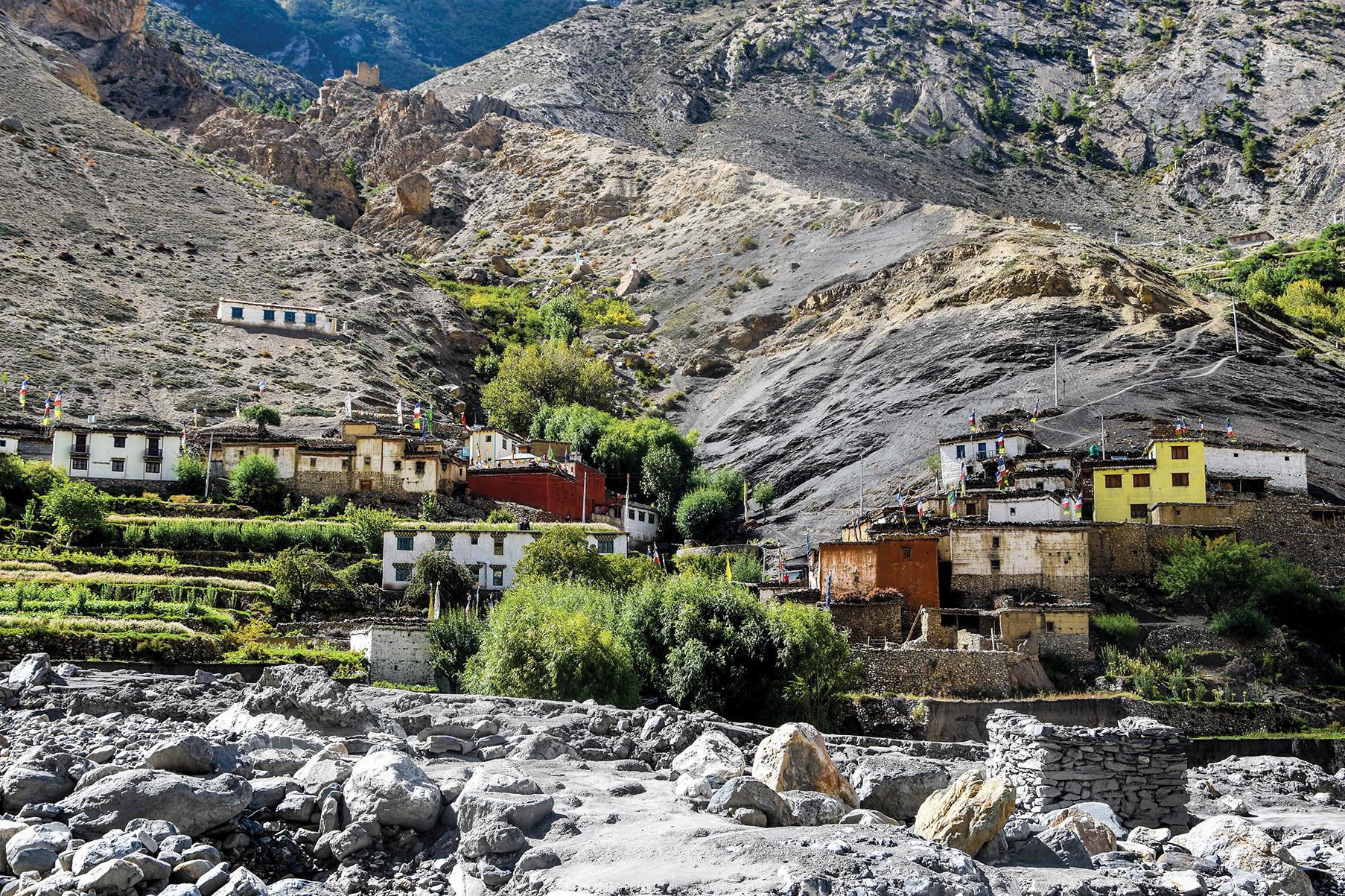 Lubra in Lower Mustang Region