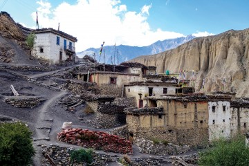 Lubra, the Hidden Bon Village of Lower Mustang