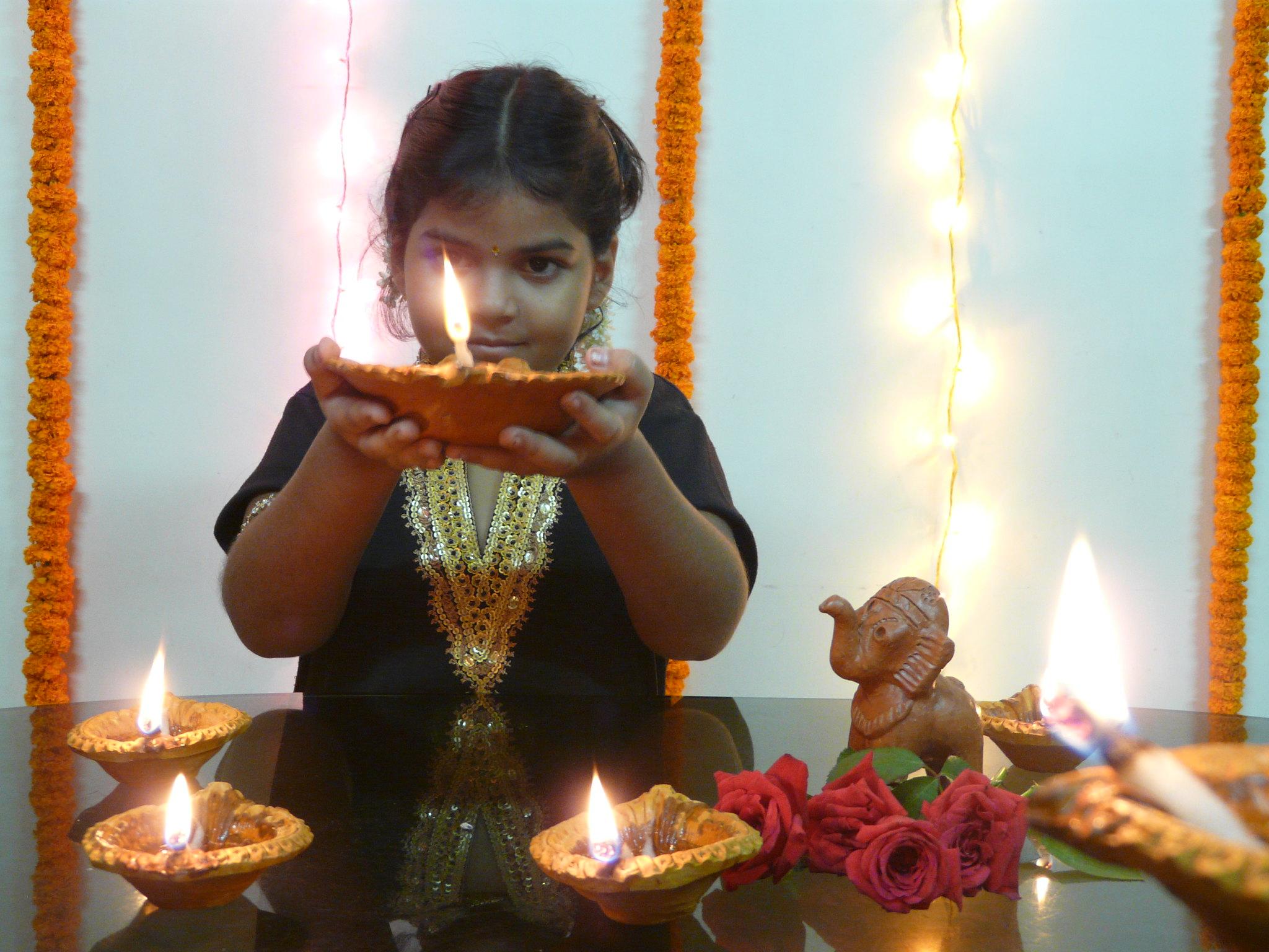 Die Magie von Tihar, dem Lichterfest in Nepal