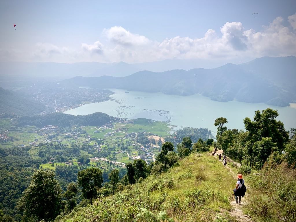 Exploring the Lakes of Pokhara
