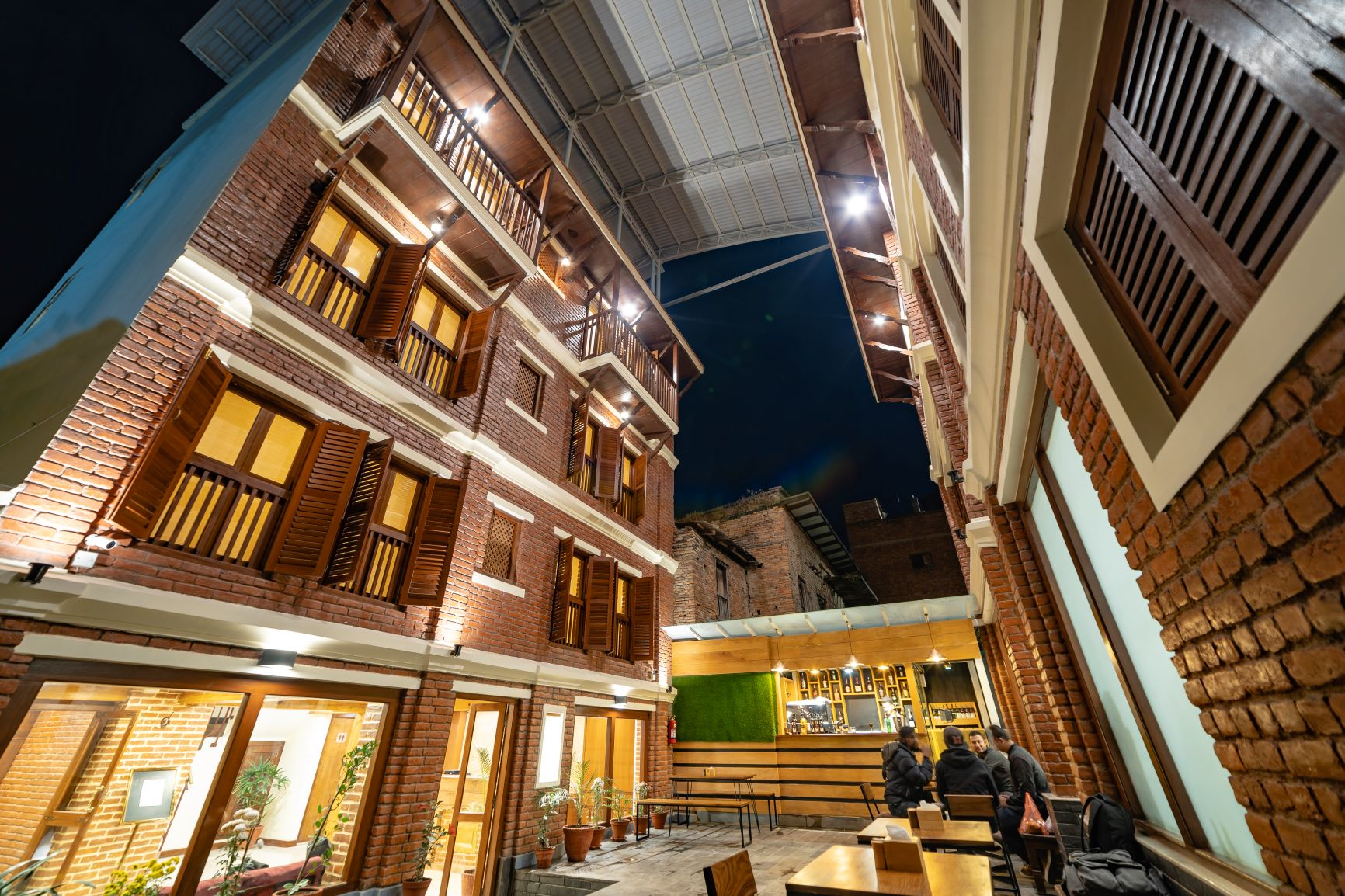 A New Hotel in Patan Town: Traditional Stay
