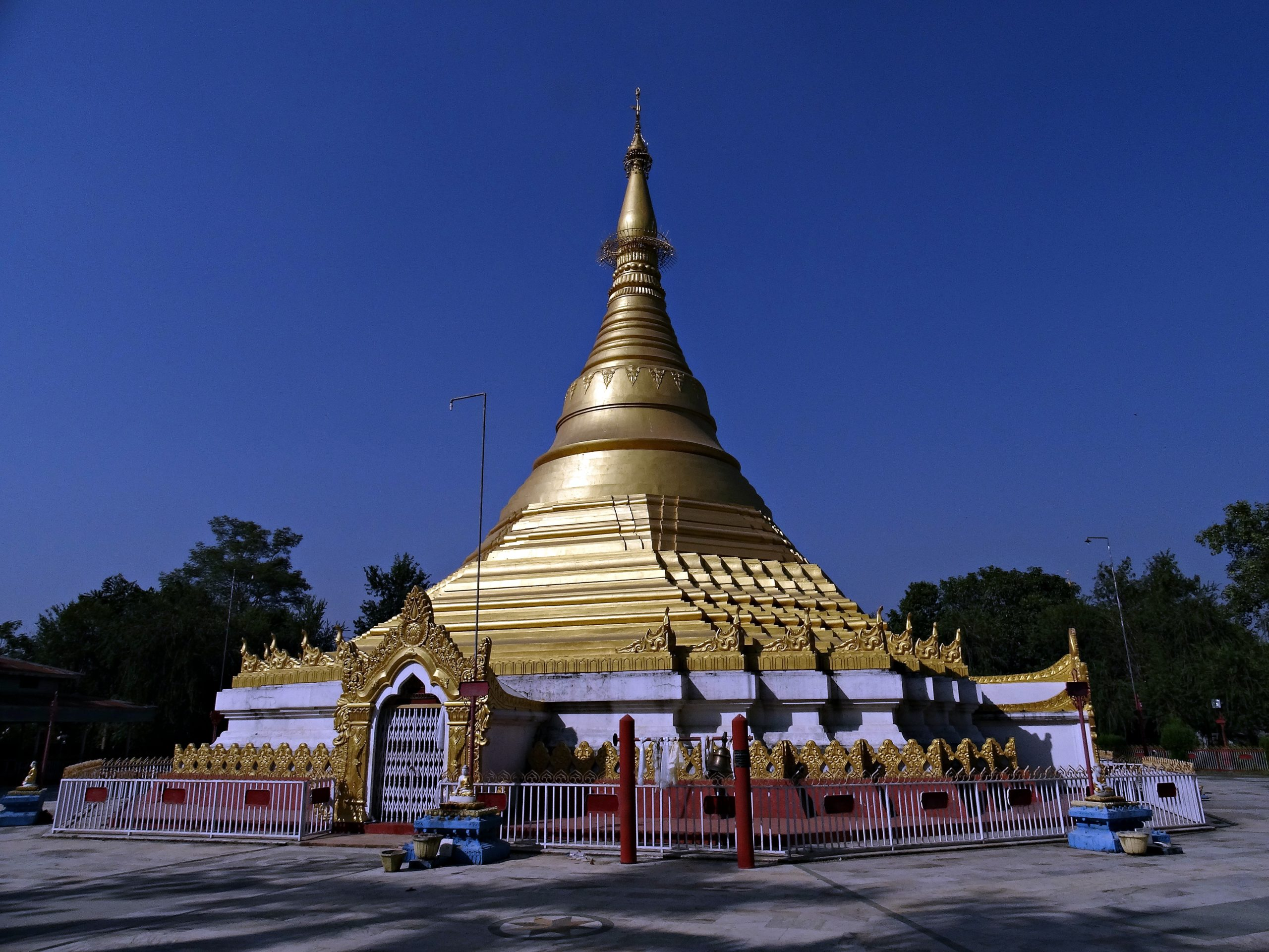 Cycling to Lumbini's Religious Sites