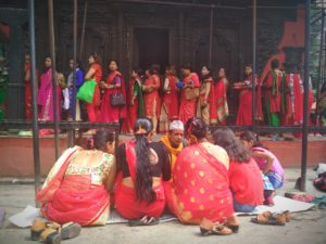 Finding Teej in Kathmandu