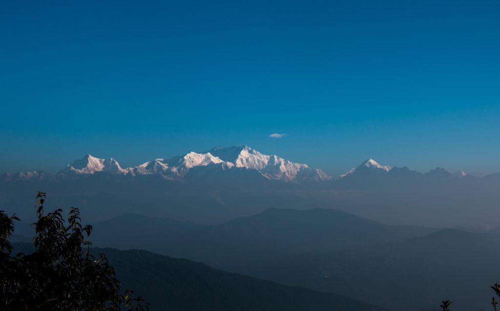 High on Sandakphu Peak