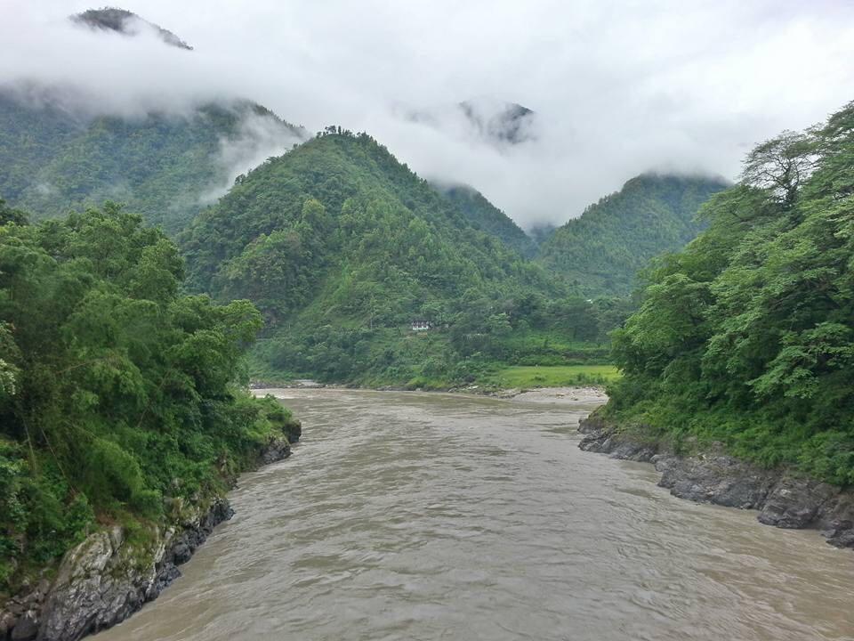 Abenteuer auf dem Trisuli River