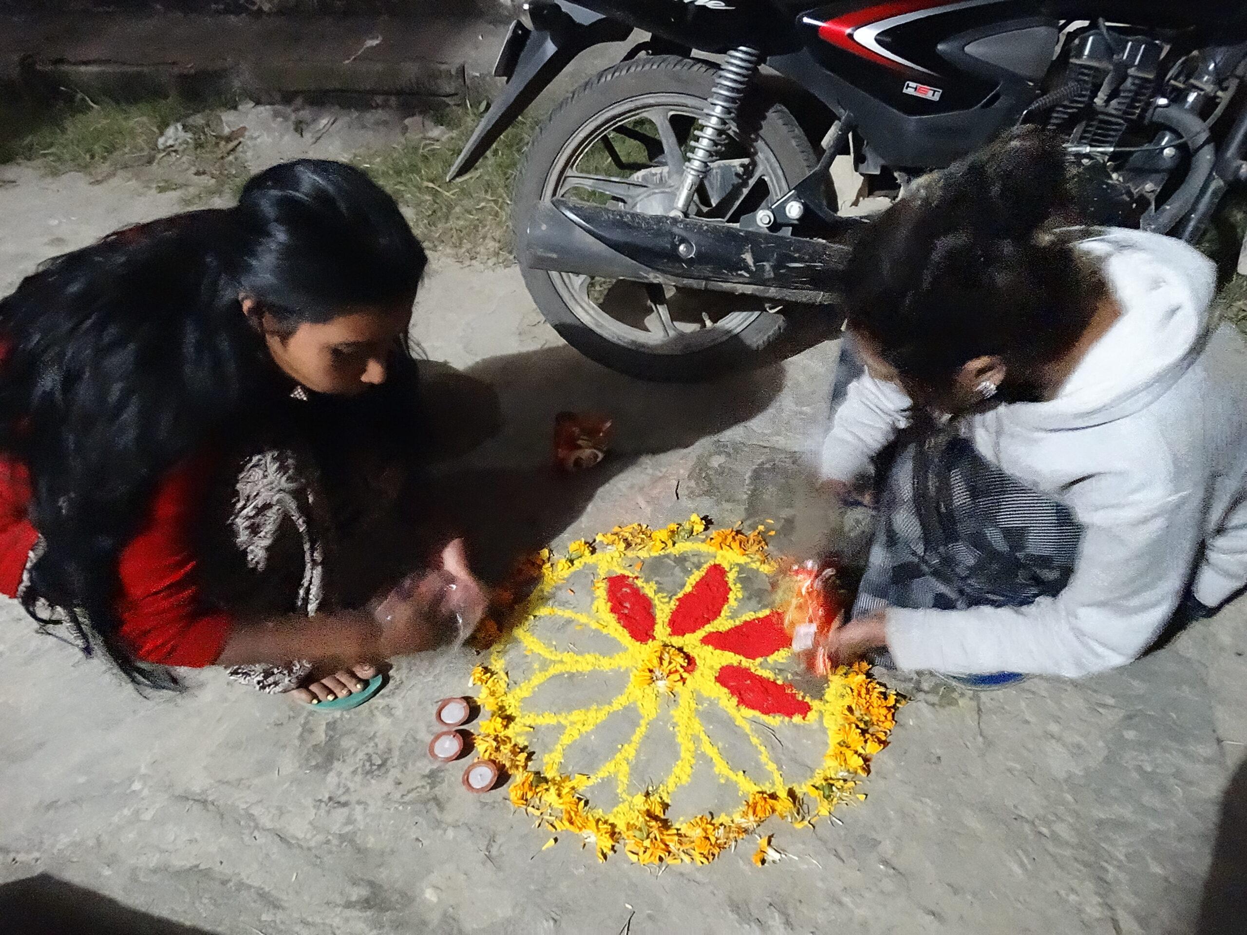 Celebrating Tihar in a Nepali Village
